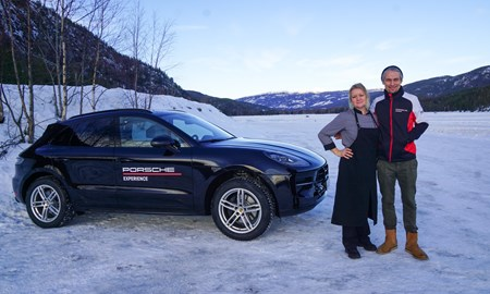 Porsche Ice Racing Experience hos Hebbes Racing